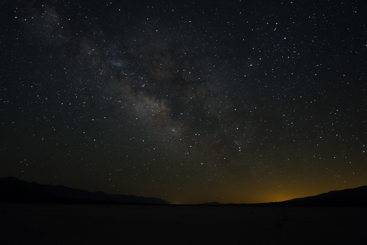 Underexposed Milky Way