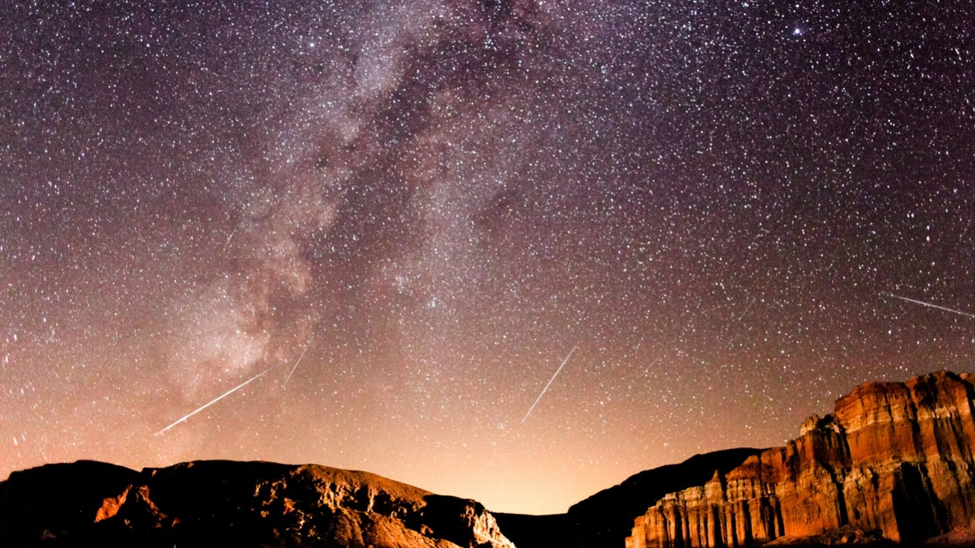 Perseids at Red Rock Canyon