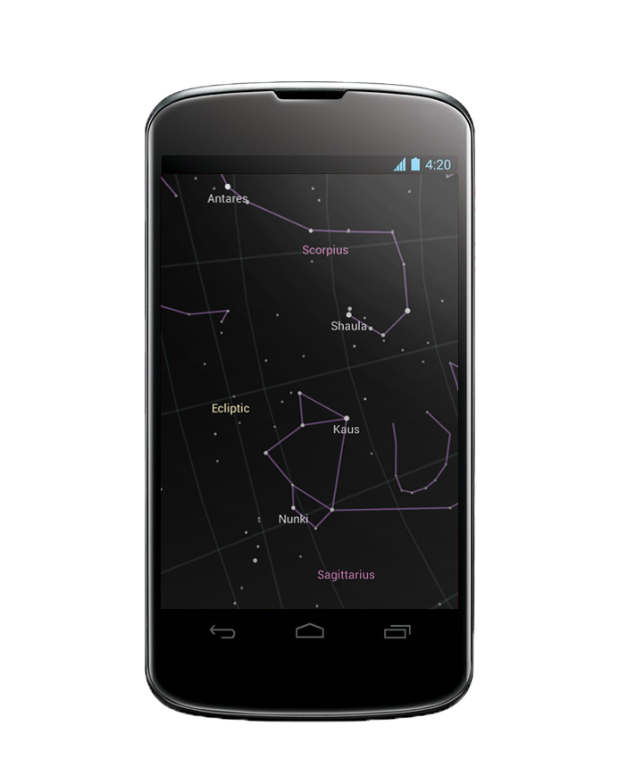 Google Sky Map for Android