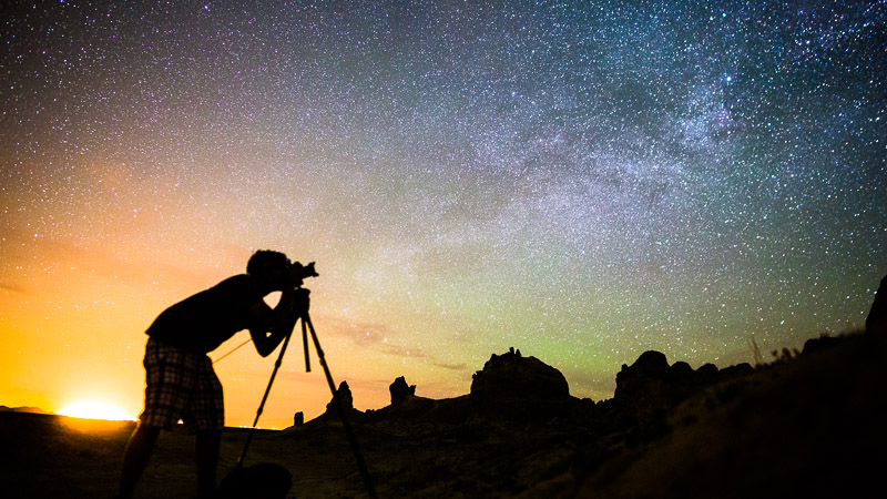 Photograph the Night Sky
