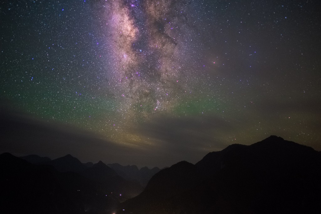 Airglow Over Sa Pa, Vietnam