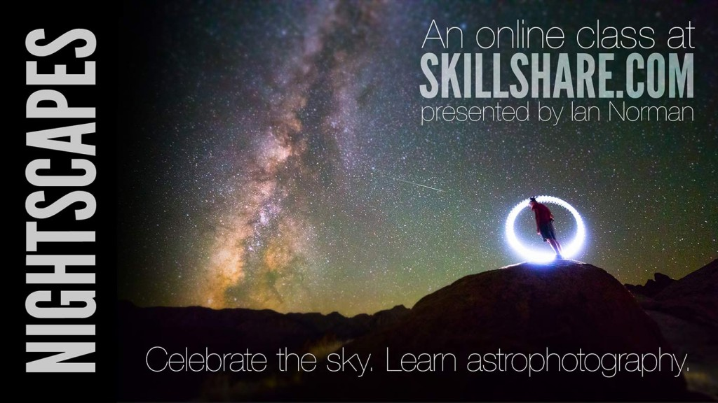 Nightscapes Skillshare Class Promo Poster