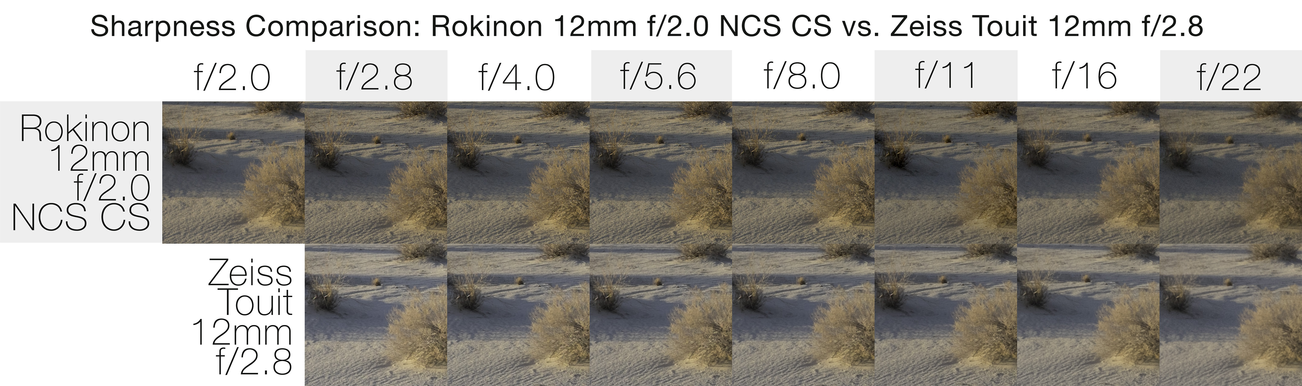 Review: The Rokinon 12mm f/2 0 NCS CS