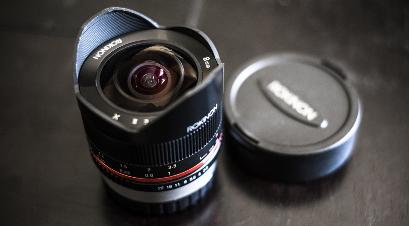 Rokinon 8mm f/2.8 Fisheye II