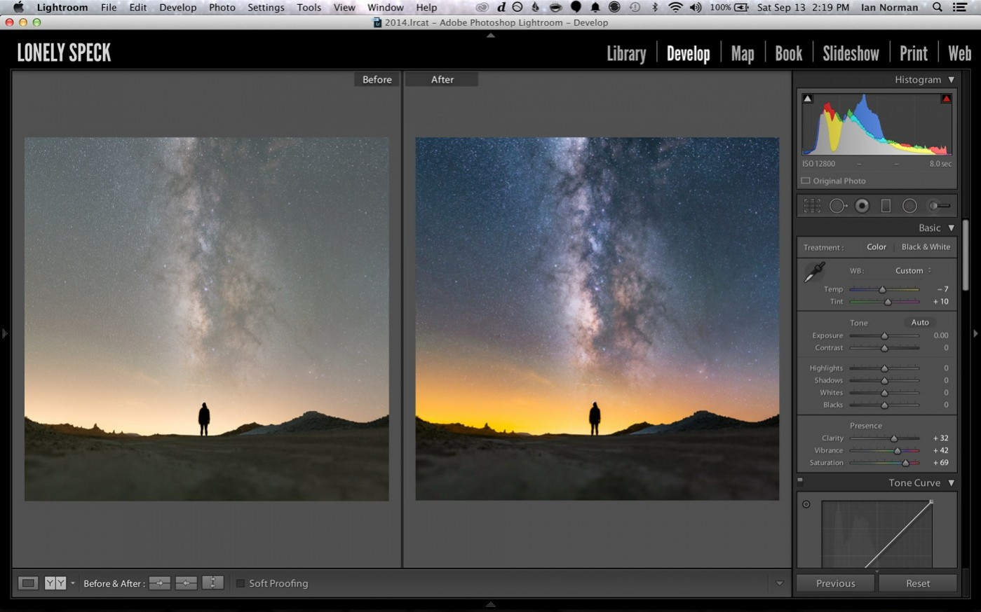 milky-way-lightroom-before-and-after