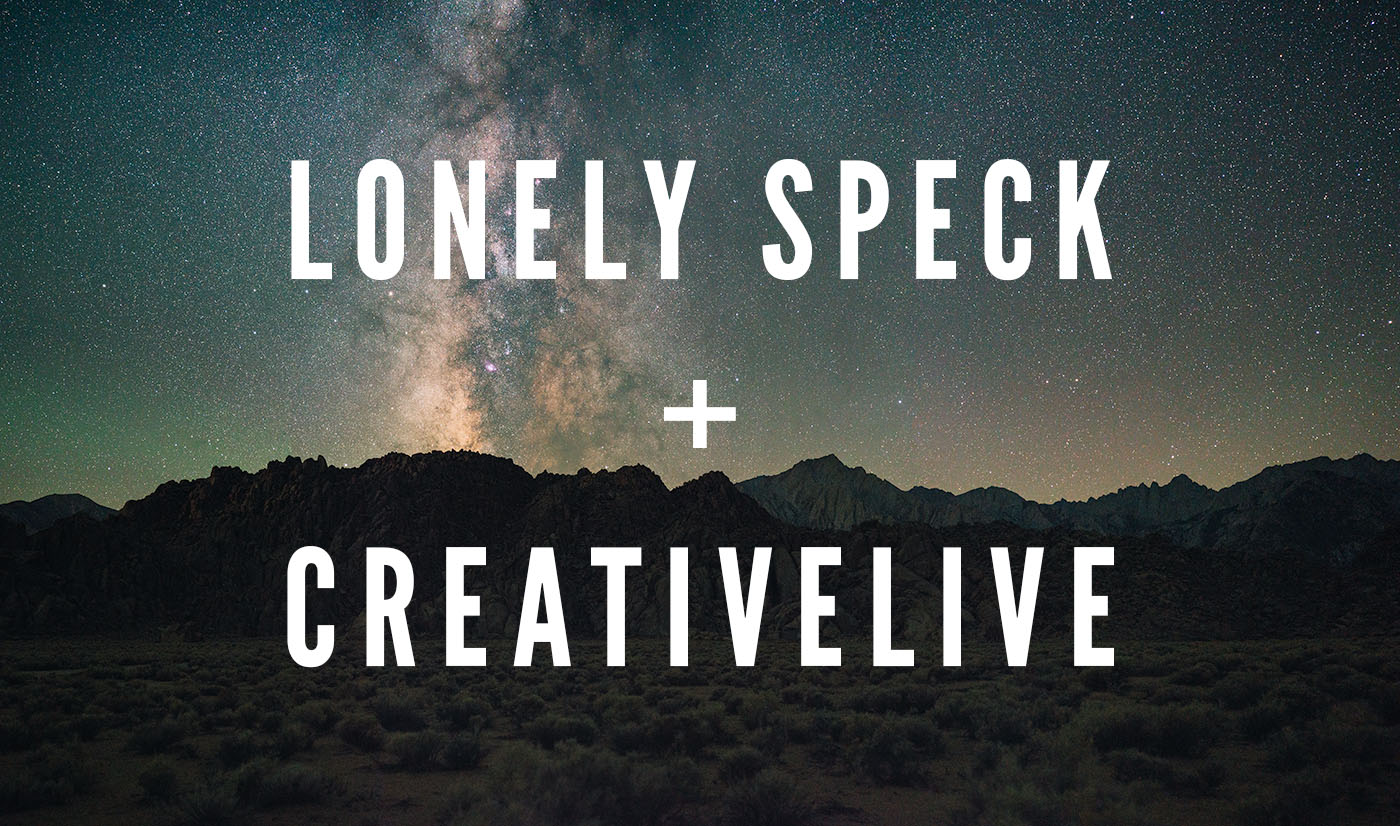 Lonely Speck + Creative Live