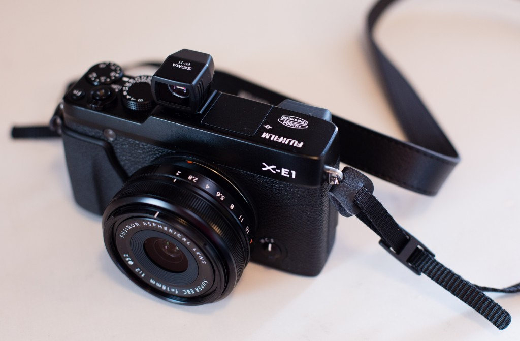 X-E1 with Optical Viewfinder