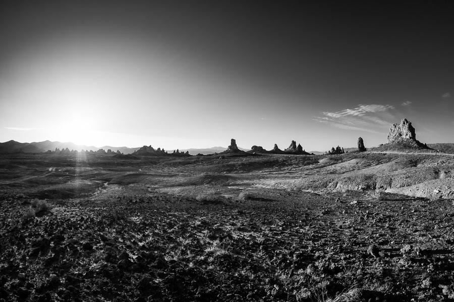 Trona Pinnacles, California