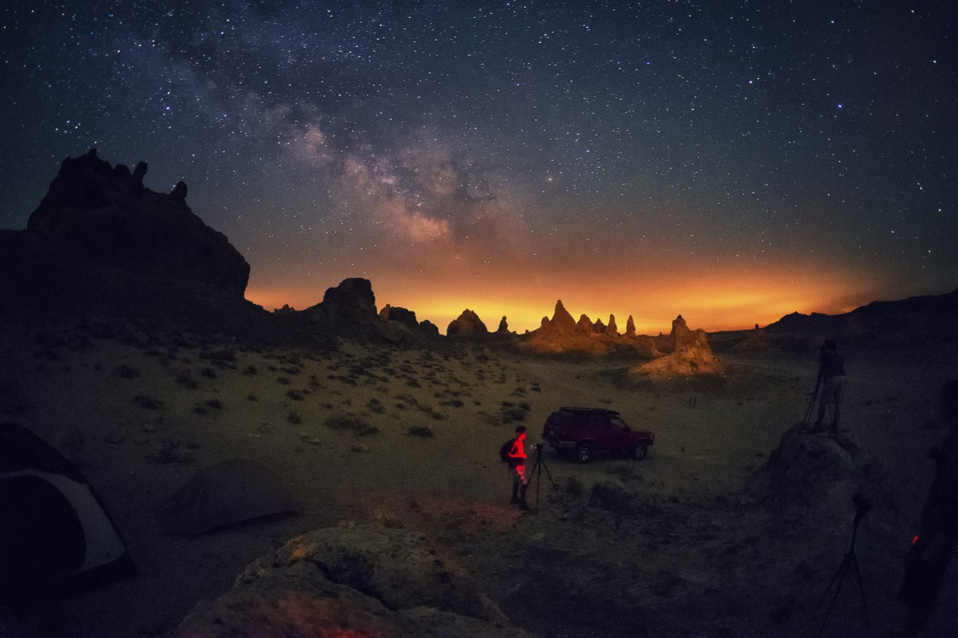 The Trona Pinnacles Workshop