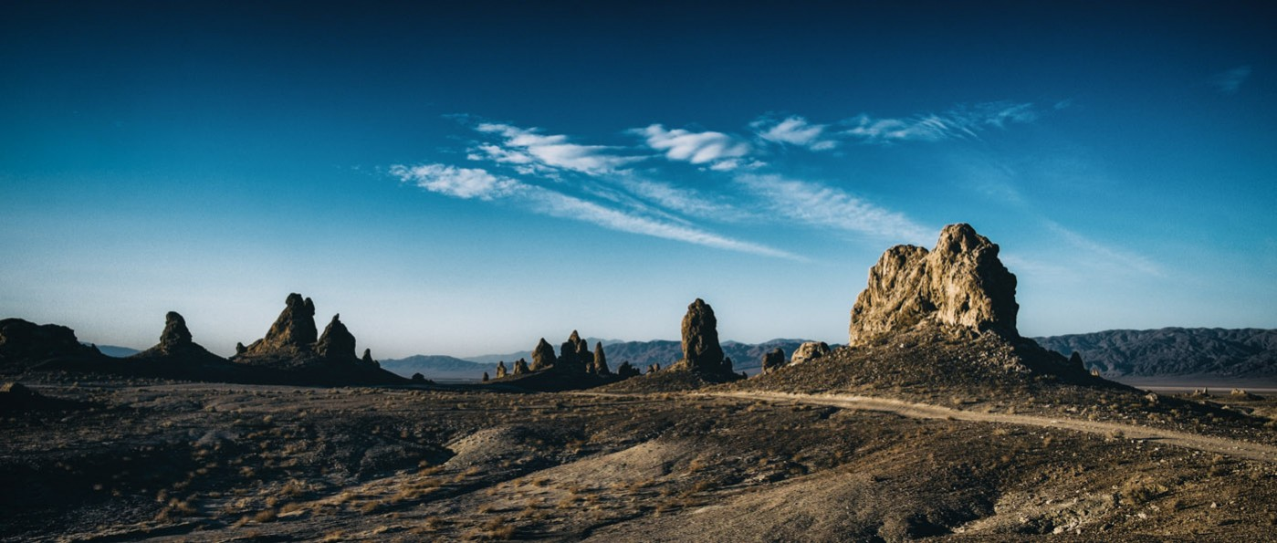 Trona Pinnacles with the X-E1