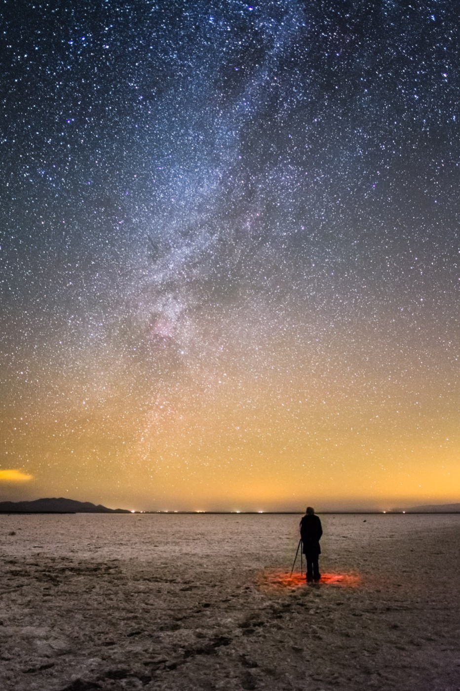 Soda Lake and the Milky Way