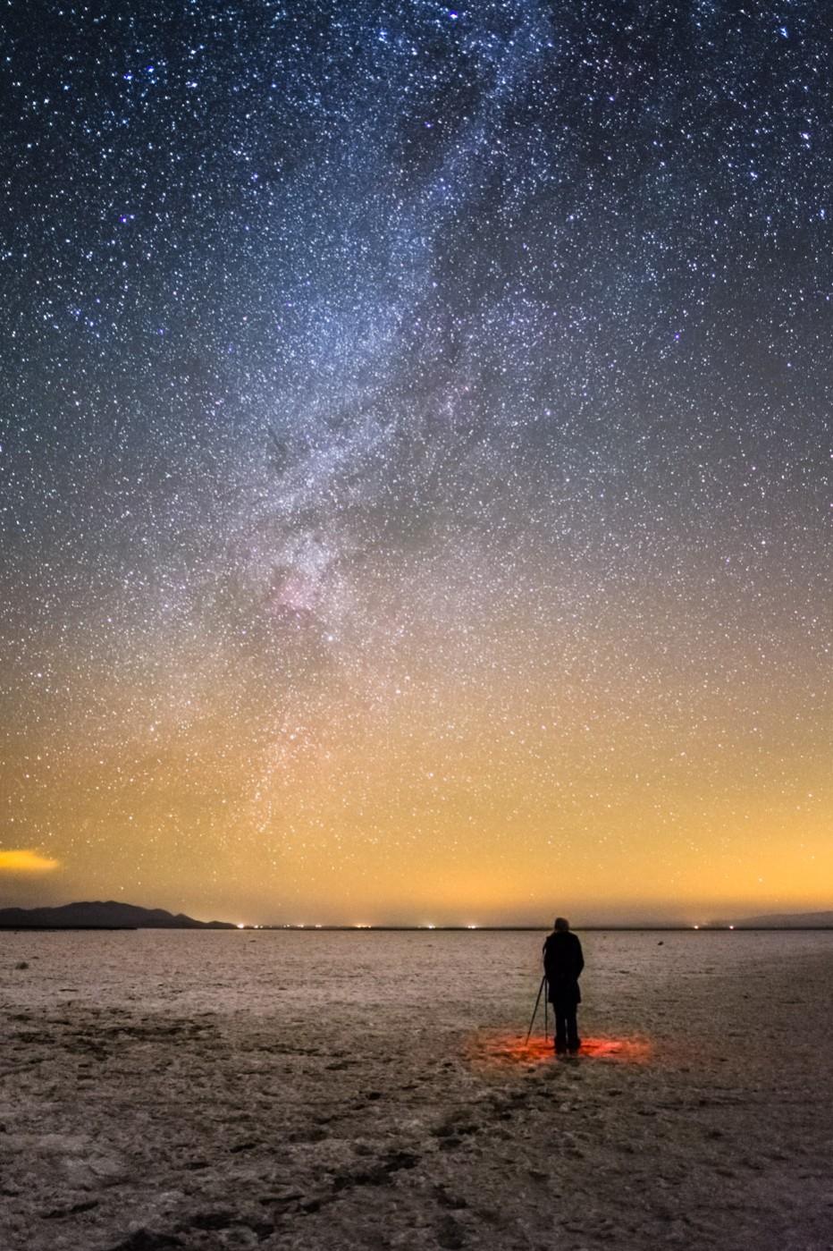 Soda Lake and the Milky Way