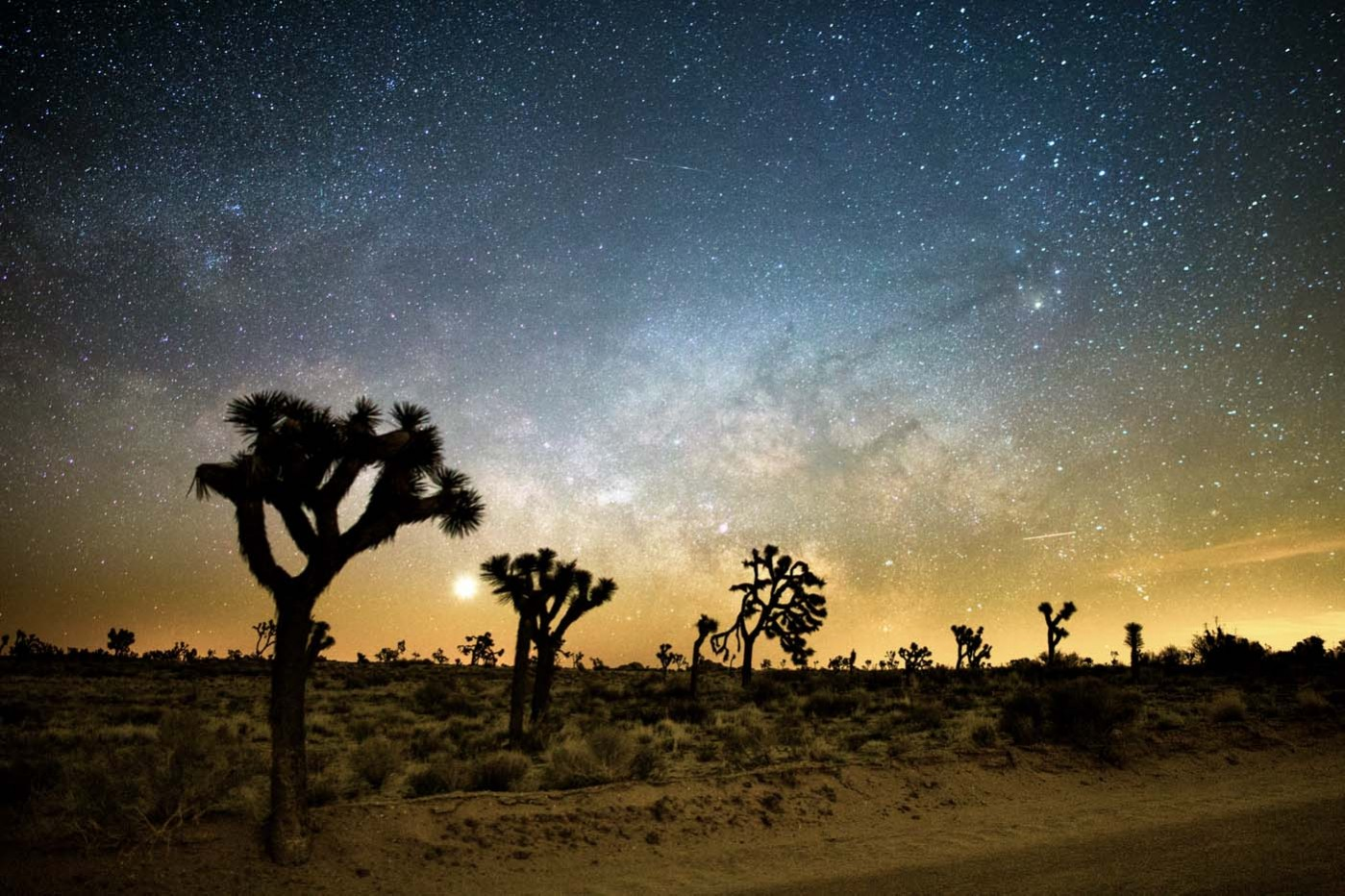 Canon EOS 6D Milky Way from Joshua Tree National Park