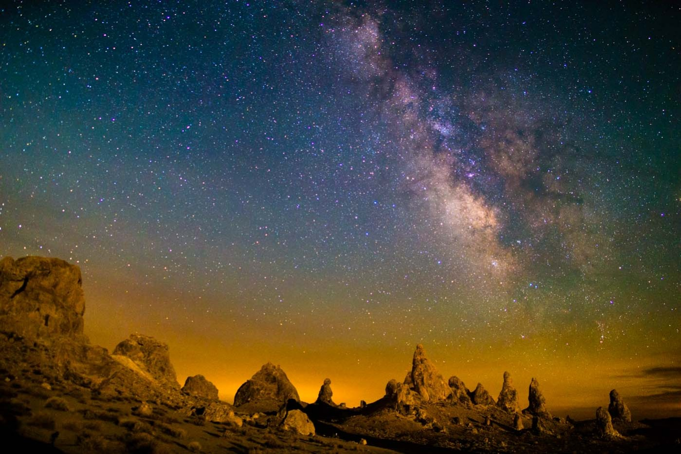 Canon EOS 6D Milky Way from Trona Pinnacles