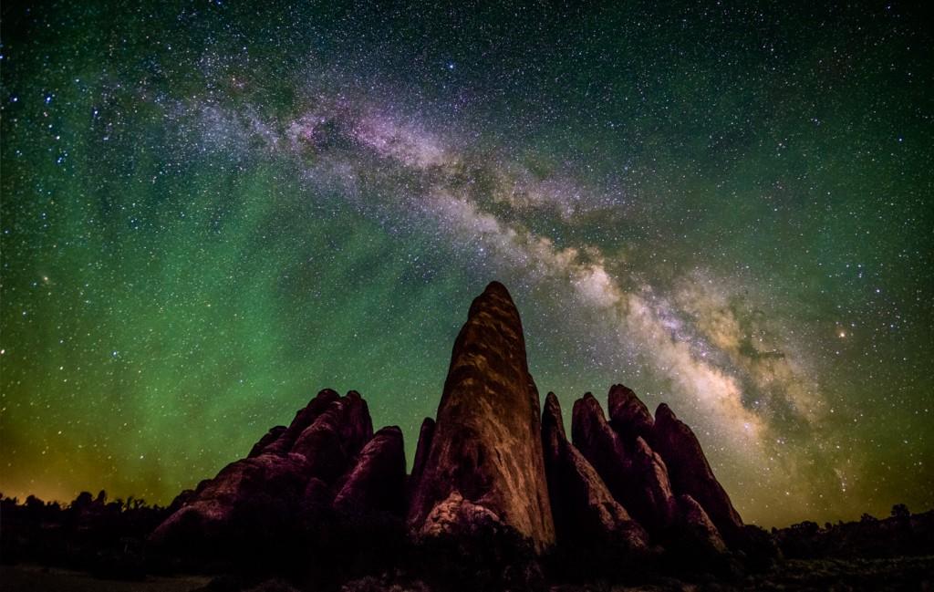 Rokinon 8mm f/2.8 Fisheye II Milky Way