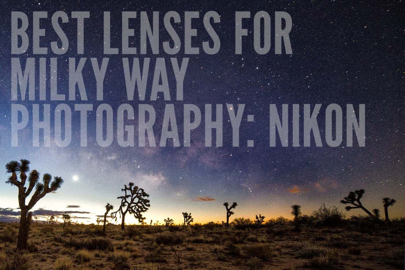Best Lenses for Night Photography: Nikon Astrophotography