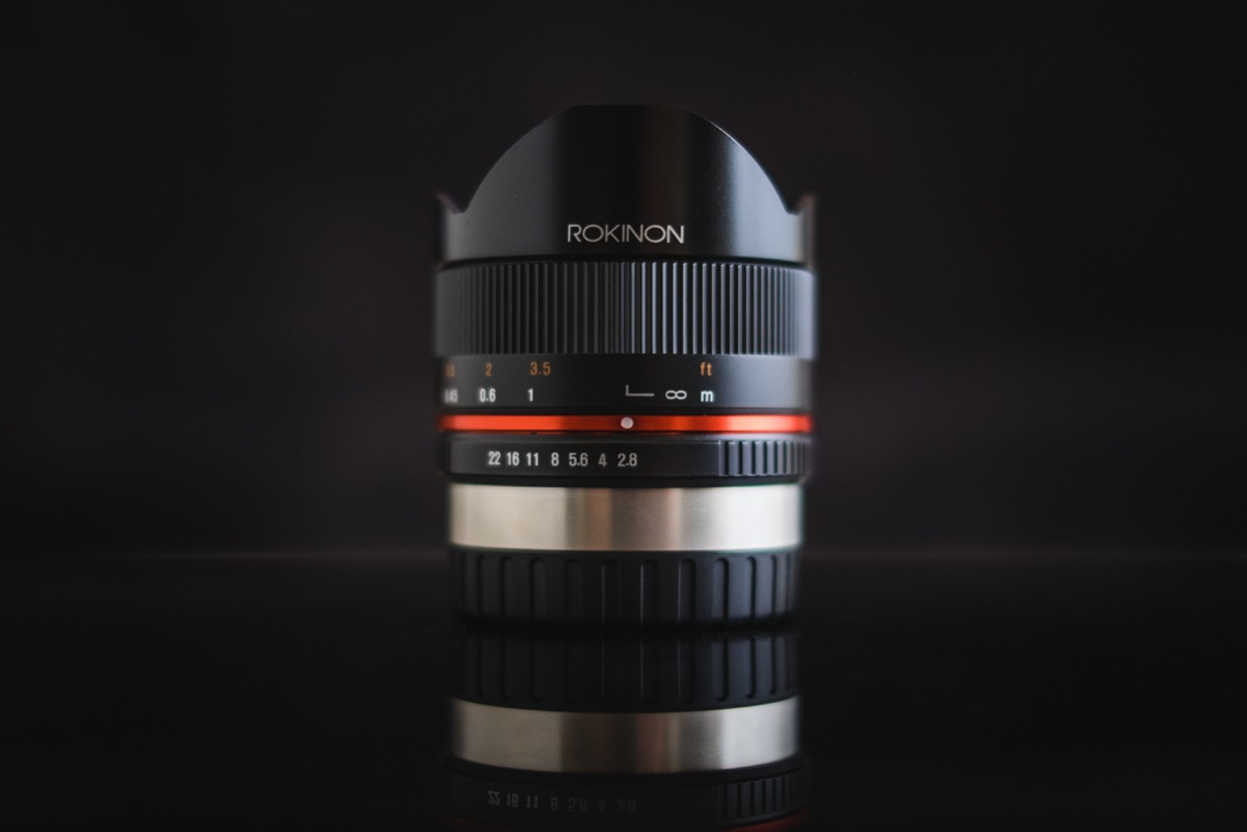 Rokinon 8mm f/2.8 UMC Fisheye II