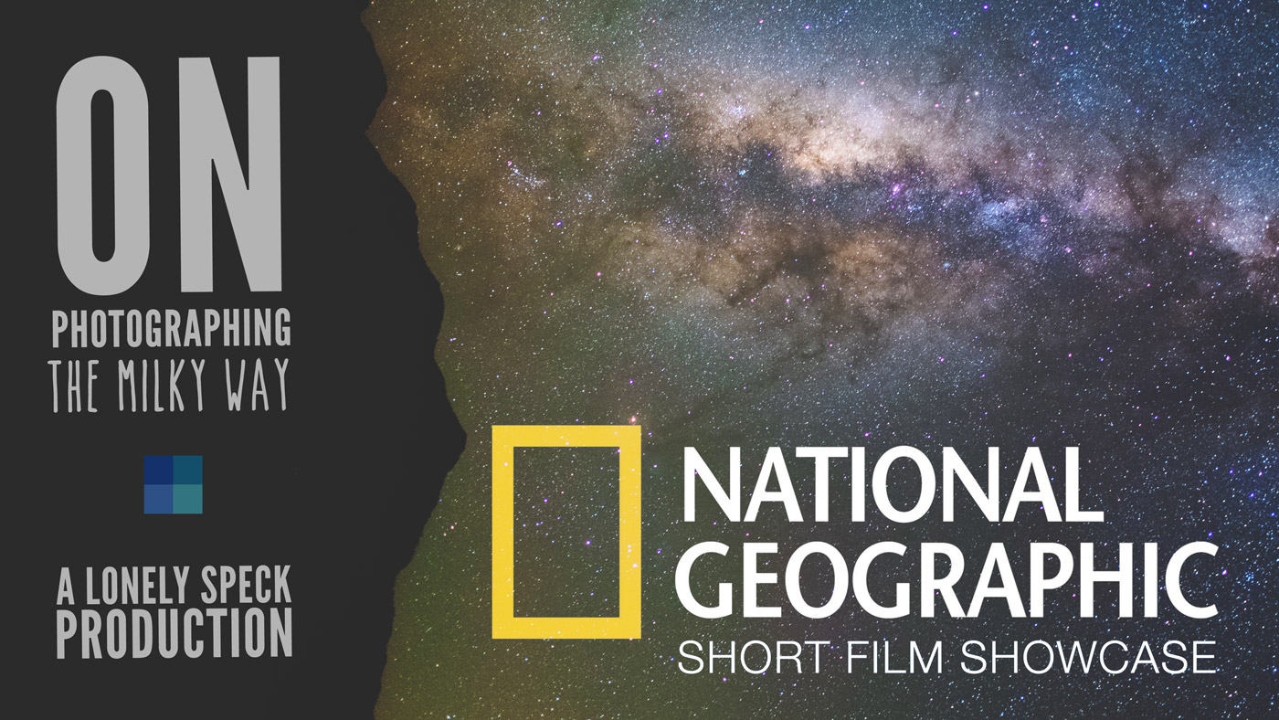 Lonely Speck featured on National Geographic's Short Film Showcase