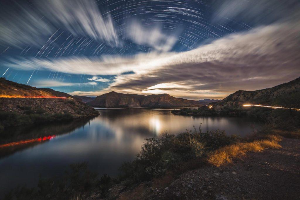 Moonlit Landscape by Tyler Sichelski