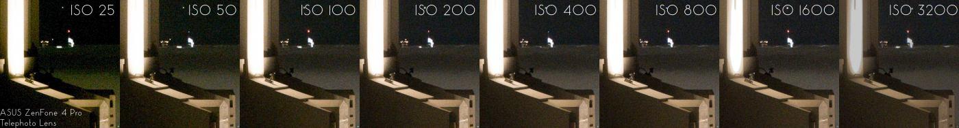 ASUS ZenFone 4 Pro ISO Invariance Test (Tele Lens)