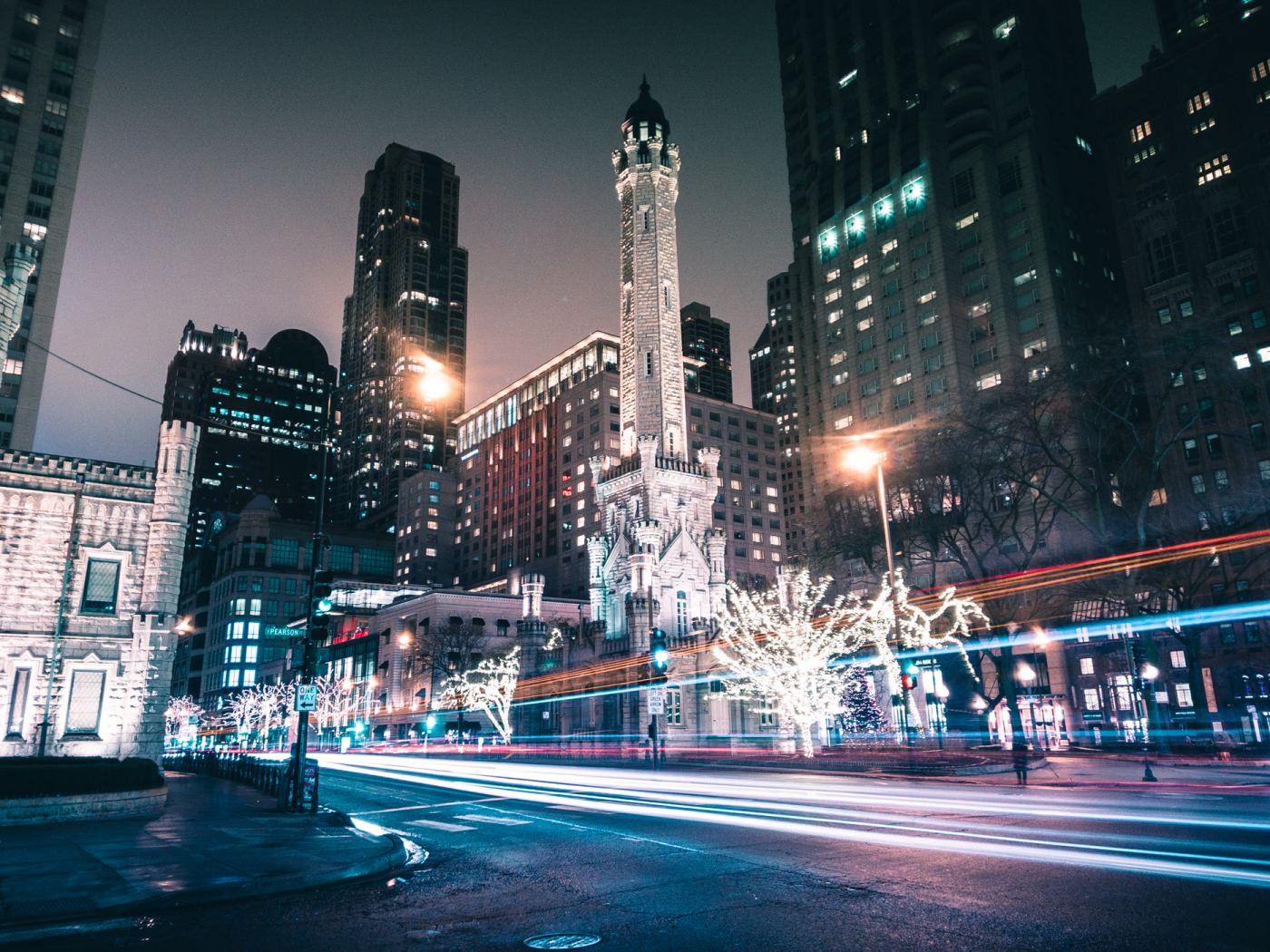 Chicago Water Tower. ASUS ZenFone 4 Pro. 10s, f/1.7, ISO 100