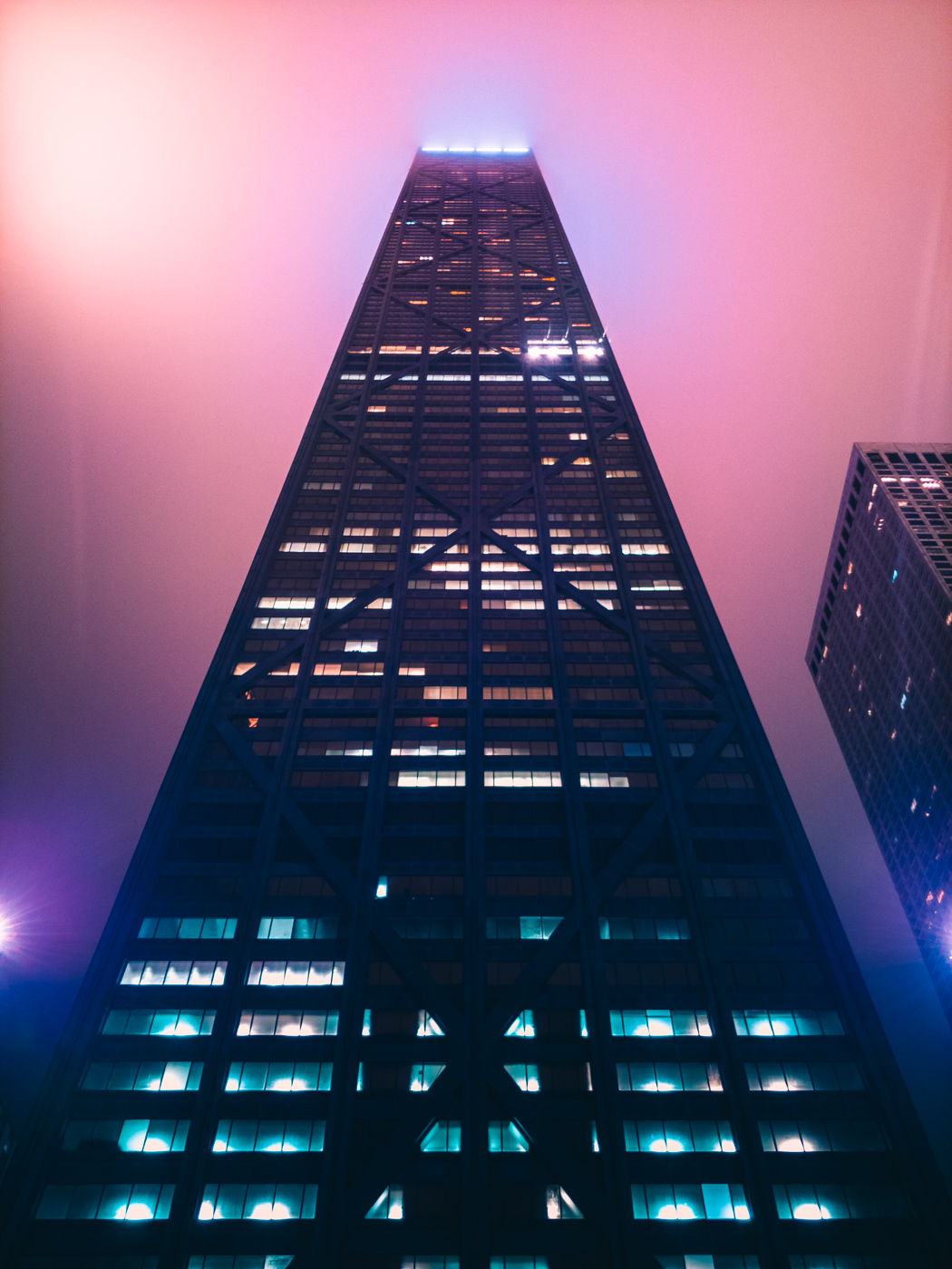 Hancock Tower, Chicago. LG V30. 15s, f/1.9, ISO 50