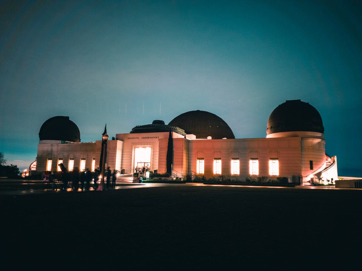 Griffith Observatory. Samsung Galaxy S8. 8s, f/1.7, ISO 50