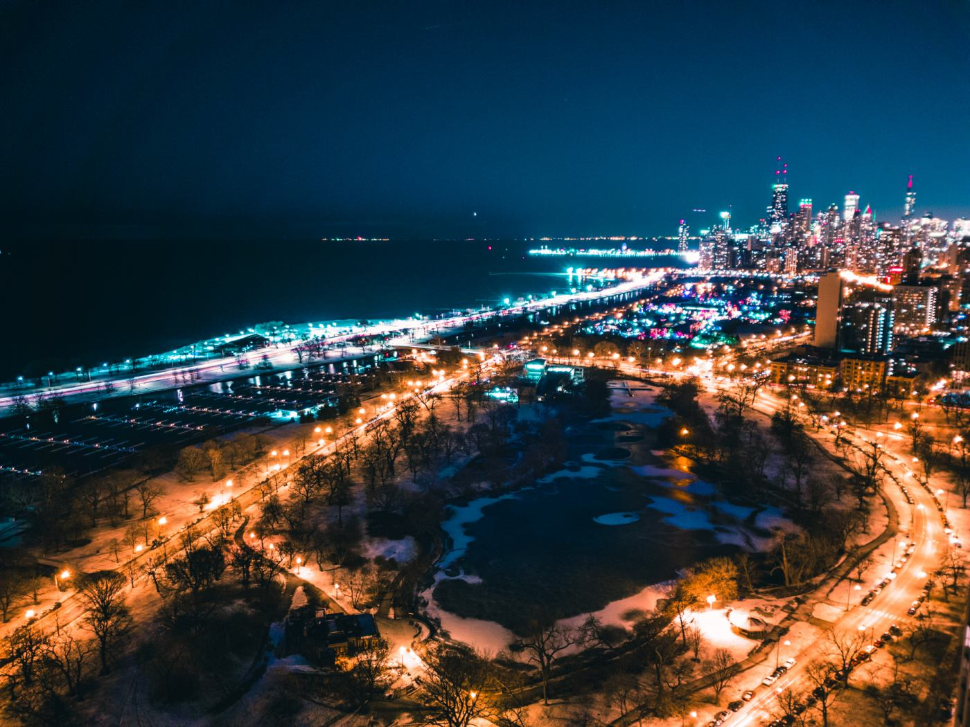 Lincoln Park and Downtown Chicago. Griffith Observatory. Samsung Galaxy S8. 8s, f/1.7, ISO 50
