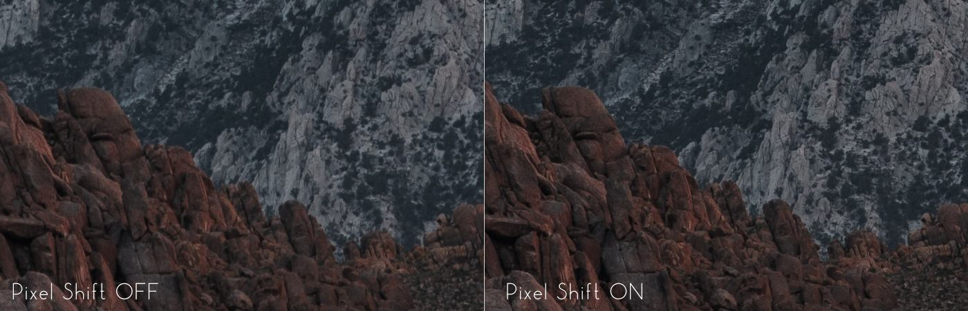 Pentax K-1 Pixel Shift Test Frame 100 Percent Crop