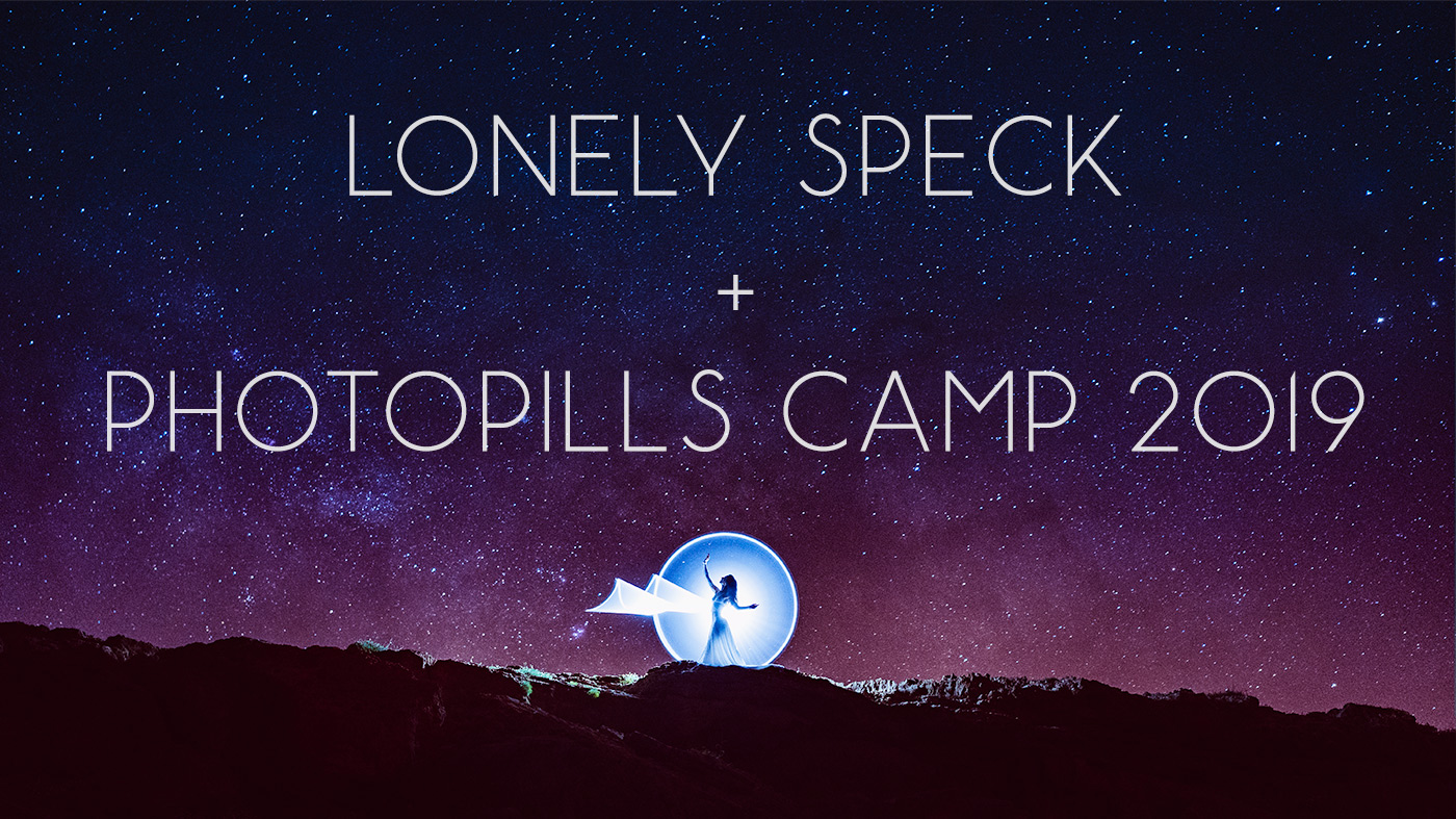 Lonely Speck at PhotoPills Camp 2019