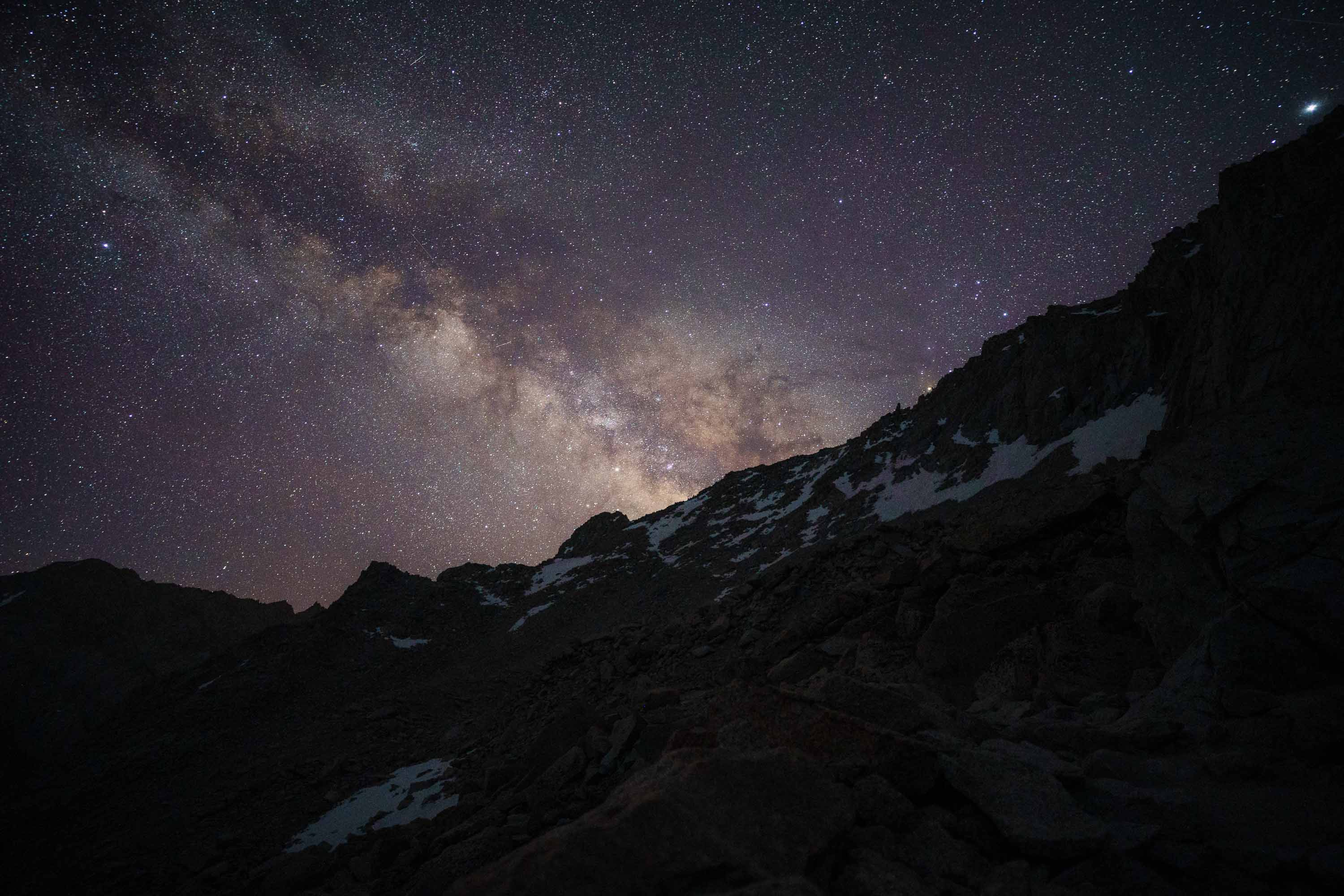 Milky Way from the 99 Switchbacks - Mt. Whitney Trail