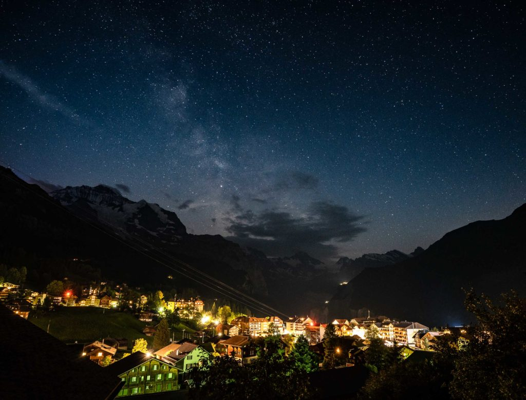 Wengen, Switzerland Milky Way