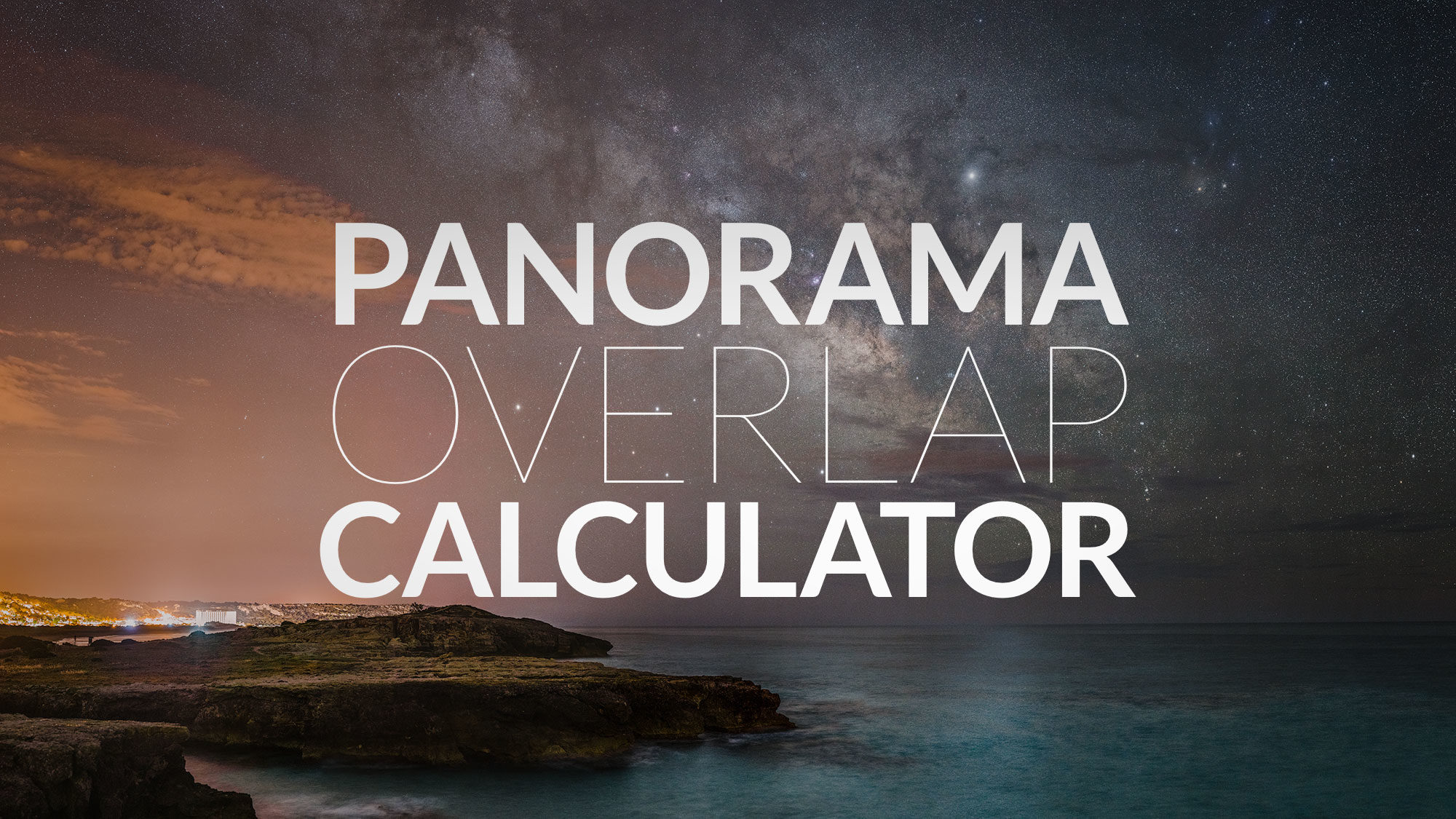 Panorama Overlap Calculator