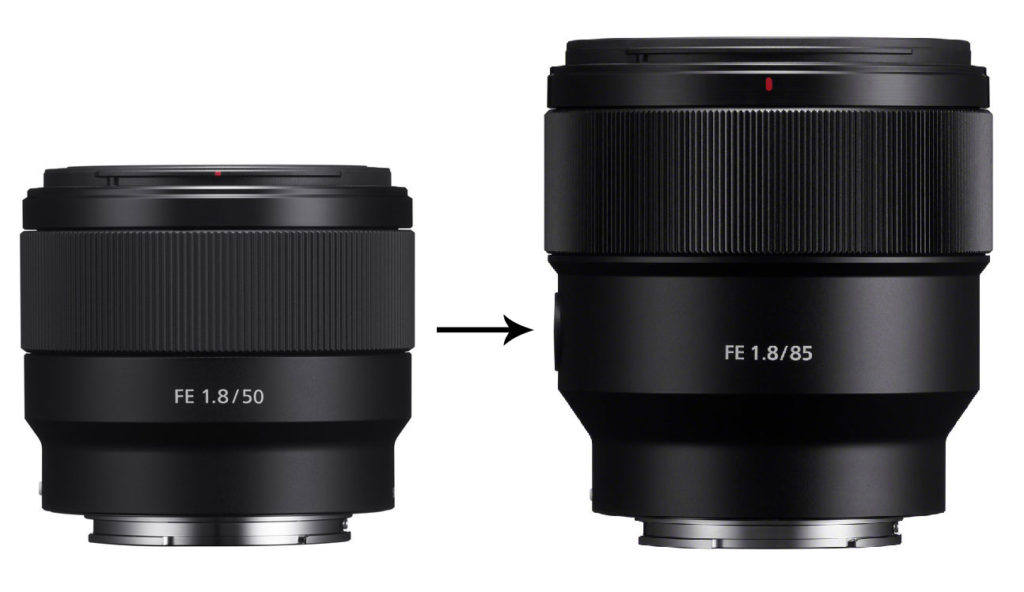 Sony FE 50mm Lens vs. Sony FE 85mm Lens
