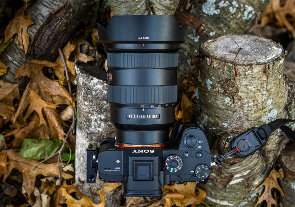 The Sony FE 16-35mm f/2.8 GM on the Sony a7RIII. Copyright Jordan Watke.